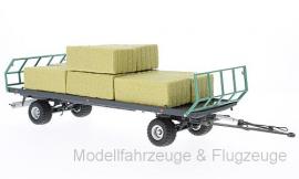 7831Oehler Zweiachs-Ballentransportwagen ZDK 120 B, 1:32 Wiking - Bild vergrößern