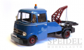 30001Mercedes L319 Abschleppwagen blau MB Service, 1:18 Premium Classixxs