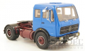 30015Mercedes FG72 Solozugmaschine blau, 1:18 Premium Clasixxs