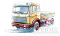 30016Mercedes FG72 Kurzpritsche Roncalli , 1:18 Premium Classixxs