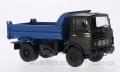 AUH100503MAZ 5551, dunkeloliv, Muldenkipper, frühe Ausführung 1:43 Auto Historia