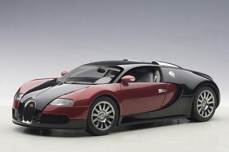 70909 bugatti eb 16.4 veyron, 1:18 autoart