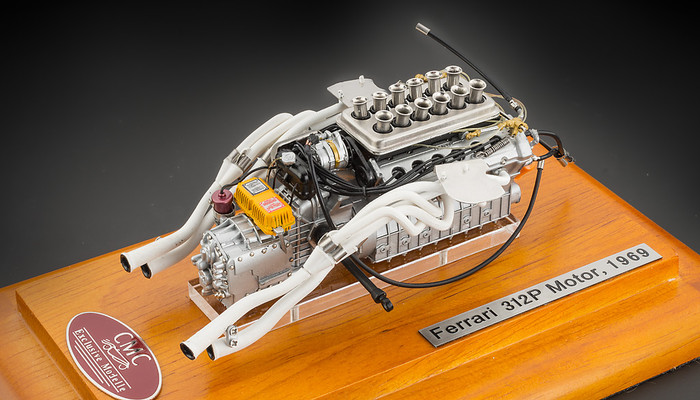 M 121 Ferrari 312p Engine Showcase Dabei 118 Cmc